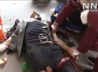 В Сети появилось шокирующее видео с места теракта в Минске