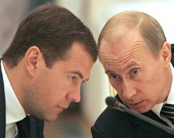 Путин за 2010 год заработал больше Медведева