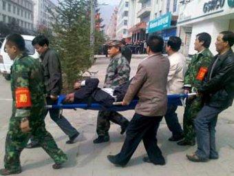 Уволенный китаец подорвал свой банк: ранено более 70 человек