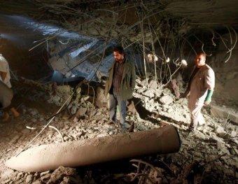 Авиаударом НАТО убиты младший сын и трое внуков Каддафи