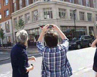 Над Лондоном зафиксировали полет группы НЛО
