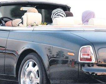 Президента Чечни засняли в Анталье за рулем авто за 2 млн долларов