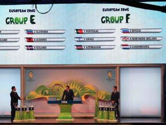 Сборная России по футболу узнала соперников в борьбе за ЧМ-2014