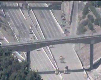 Шоссе через центр Лос-Анджелеса построили за сутки