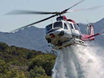 В Индонезии разбился вертолет Bell 412: 10 человек погибли