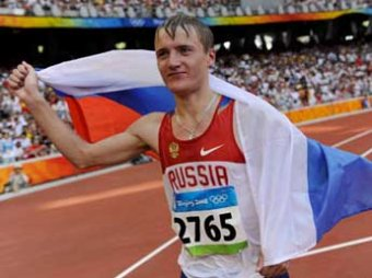 Валерий Борчин принес первое золото России на чемпионате мира по легкой атлетике