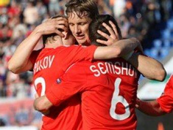 Россия победила Македонию в отборочном турнире Евро-2012