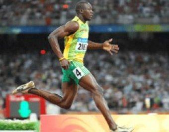 Ямайские бегуны во главе с Усейном Болтом установили мировой рекорд в эстафете 4х100 метров