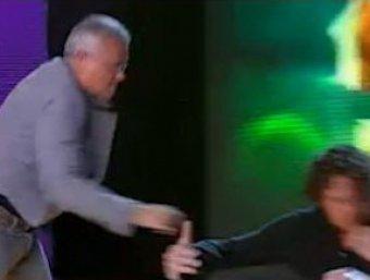 Олигархи Лебедев и Полонский подрались в студии ТВ, обсуждая кризис
