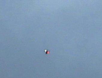 Британские журналисты разглядели НЛО над Болотной площадью
