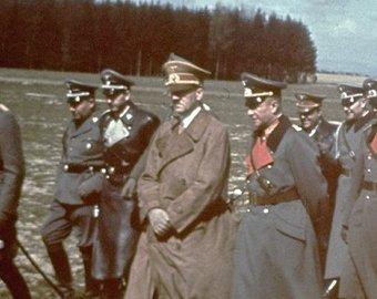 Обнародованы неизвестные цветные фото Гитлера