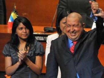 Дочь Уго Чавеса опозорила отца на весь Интернет