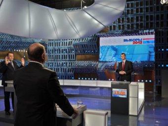 Миронов отказался дебатировать с доверенными лицами Путина, а Прохоров согласился