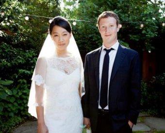 Основатель Facebook Цукерберг женился