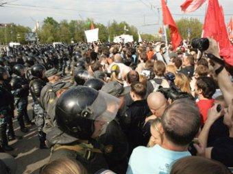 18-летнюю москвичку задержали за насилие над ОМОНовцем на митинге 6 мая