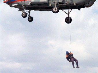 В Туве при тушении лесного пожара погибли 8 десантников