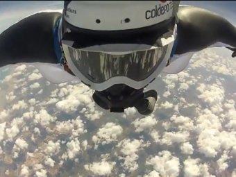 Колумбийский каскадёр побил 4 рекорда Гиннесса за один прыжок