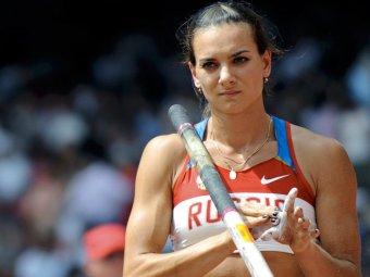 Елена Исинбаева попала в десятку самых знойных красоток Олимпиады-2012