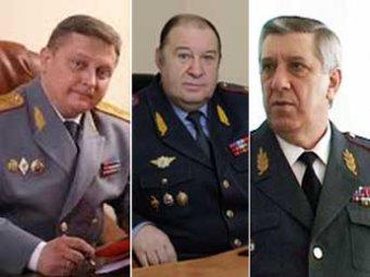 Путин начал неделю с увольнения трех генералов МВД