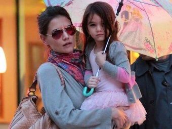 В Нью-Йорке Кэти Холмс с дочерью попали в ДТП