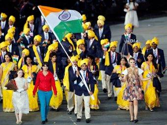 """Делегацию Индии на открытии Олимпиады """"возглавила"""" неизвестная женщина"""