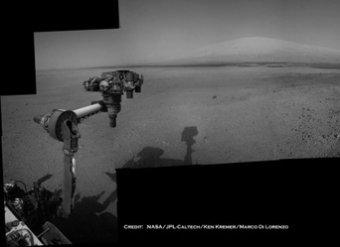 Камеры Curiosity зафиксировали на Марсе перемещения НЛО