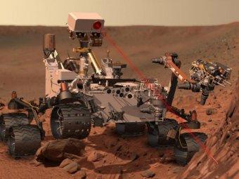 Curiosity прислал первую цветную 360-градусную панораму Марса