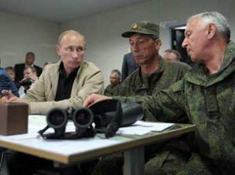 """Путин обратился к военным: """"Мы должны держать порох сухим"""""""