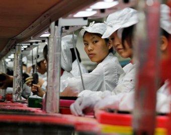 Производство iPhone 5 парализовано из-за забастовки на заводе в Китае