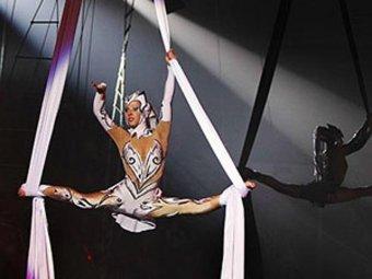 фото голой девушки в цирке
