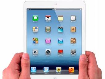 Новый планшет Apple iPad-mini не будет поддерживать российские сети