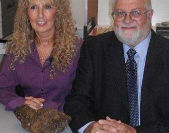 Семейная пара подпирала дверь метеоритом, которому 4,5 млрд лет