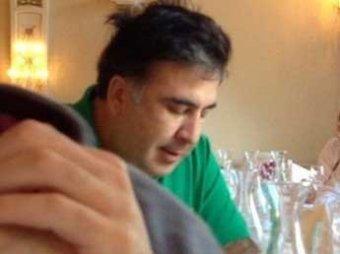 Канделаки шокировала Сеть красными трусами Саакашвили