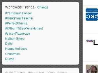 #законПодлецов возглавил ТОП-5 популярнейших хэштэгов Twitter