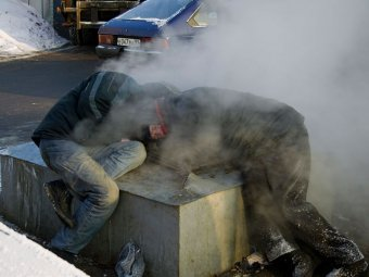 Более 20 россиян умерли от морозов за сутки