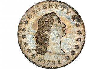 В США монету в 1 доллар продали за  миллионов