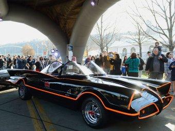 В США первый Бэтмобиль продали за ,6 млн