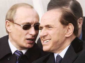 """Берлускони заявил о братских отношениях с Путиным: """"он лучший в мире политик"""""""