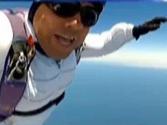 Американец выжил, рухнув с высоты в 4 км с неисправным парашютом