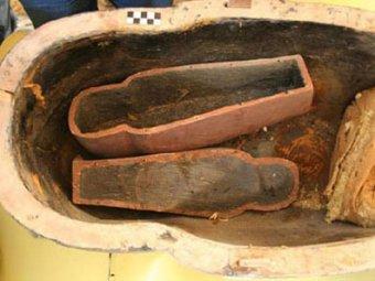 В Египте найден детский саркофаг возрастом более 3500 лет