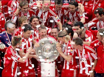 Бавария германия футбол