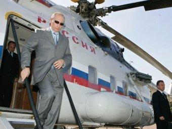 На работу в Кремль Путин теперь будет летать по воздуху