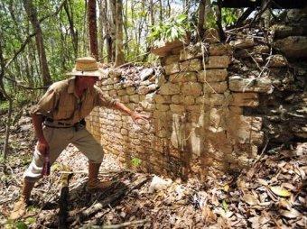 В лесах штата Кампече найдены руины древнего города Чактана.