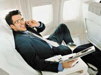 В самолетах разрешат звонить – в Европе частично снят запрет на звонки на борту