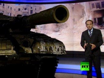 3D-новости RT с танками и взрывами в студии удивили даже Путина