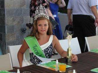 Тульская школьница стала самой красивой девочкой на планете