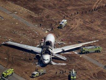 Пассажиры рассказали о крушении Boeing 777 в США