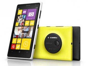 """Nokia представила """"винфон"""" Lumia с 41-мегапиксельной камерой"""