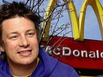 Джейми Оливер показал, из чего на самом деле делаются гамбургеры Макдональдс