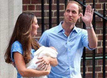 Британский принц Уильям назвал своего сына маленьким проказником